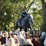 Secretariat Sculpture Unveiled at Keeneland Festival